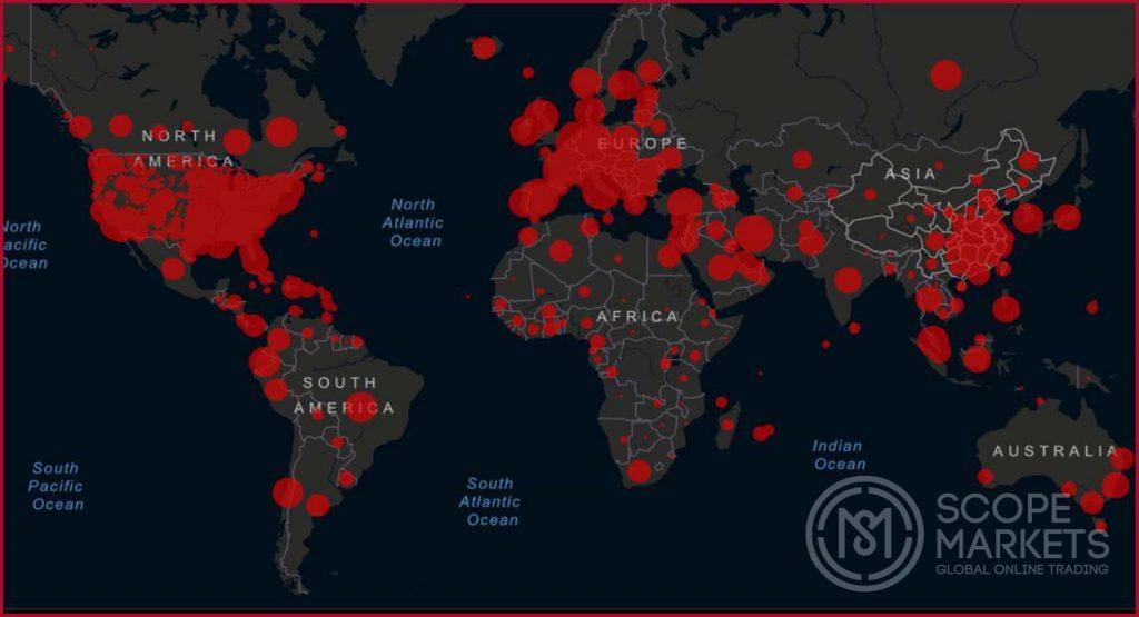 Coronavirus lây lan nhanh chóng trên toàn thế giới
