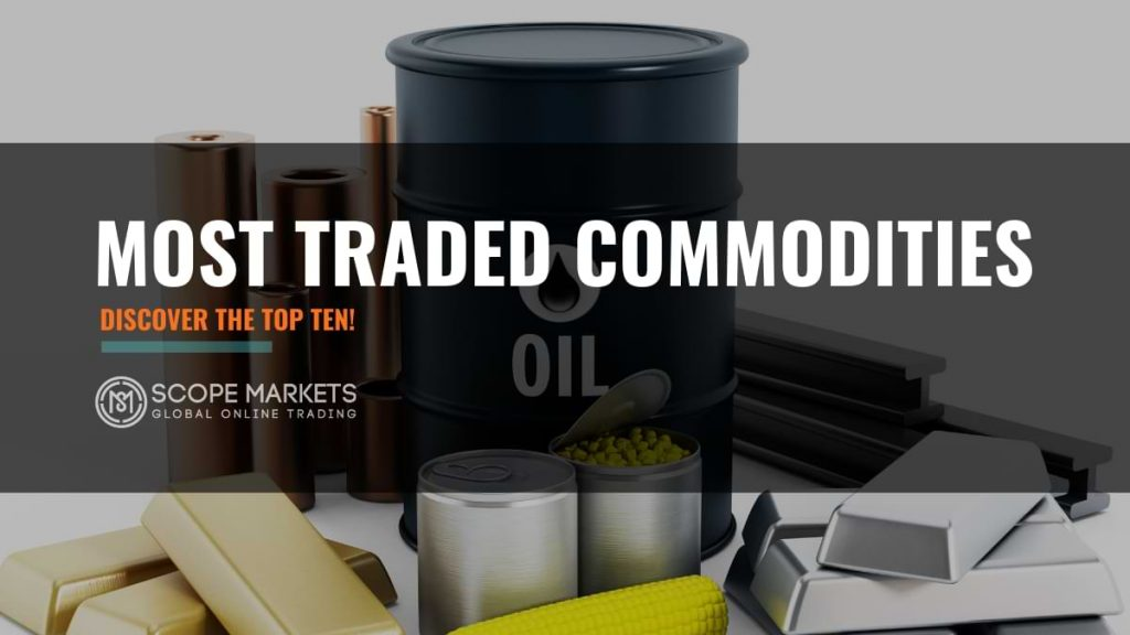 most traded commodities