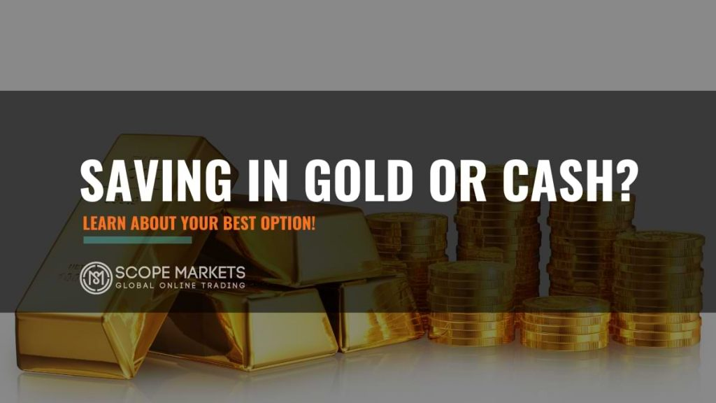 saving on cash or gold - higher high
