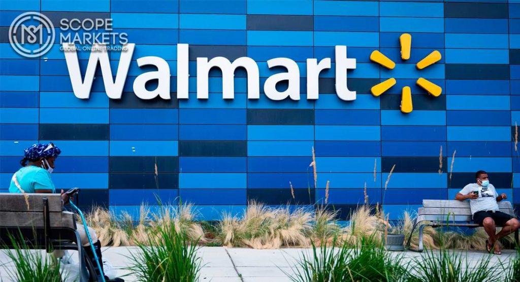 Cổ phiếu Walmart có một sự phát triển liên tục