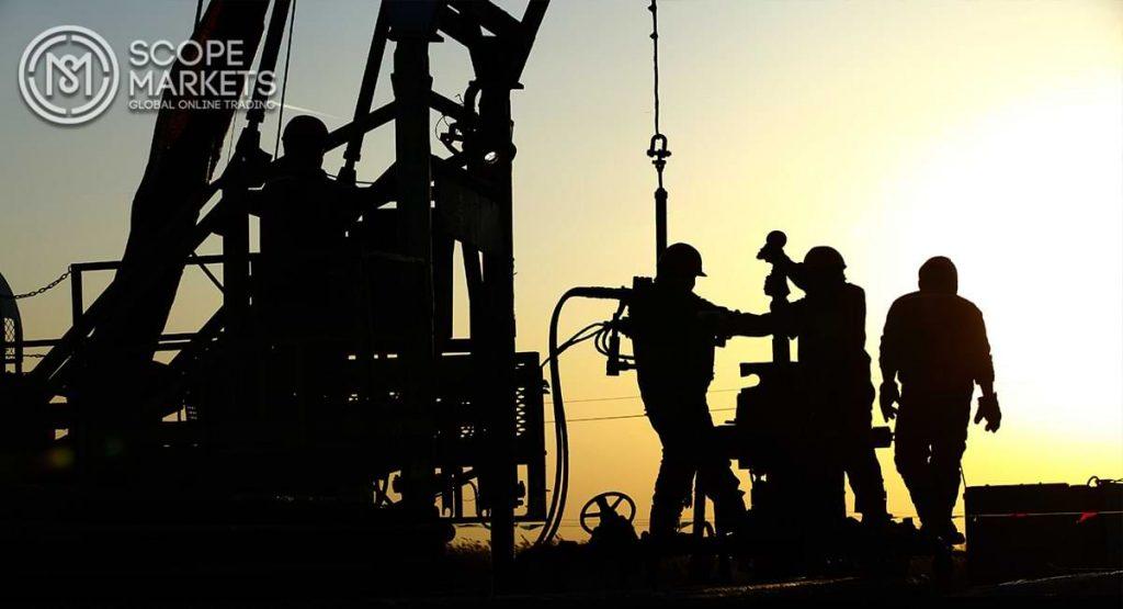 Giá dầu thô cũng trên đà giảm