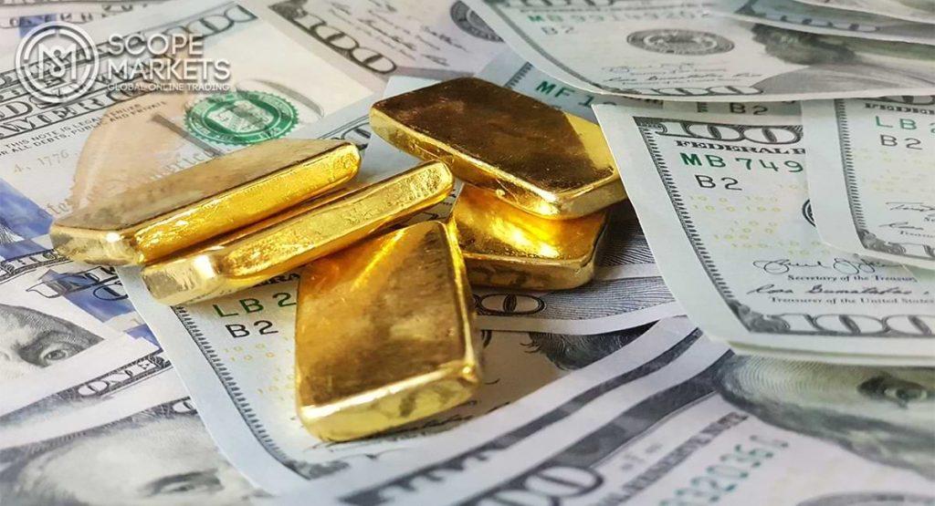 Giá vàng trong phiên Mỹ giảm