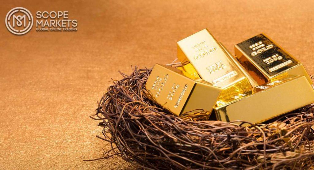 Vàng tăng lên trên 1.780 USD