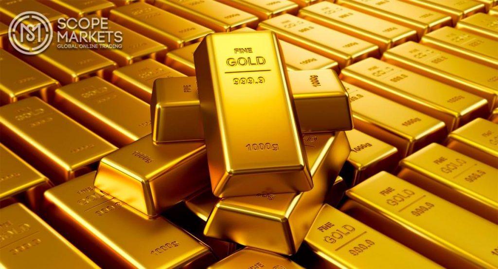 Giá vàng Châu Á tăng