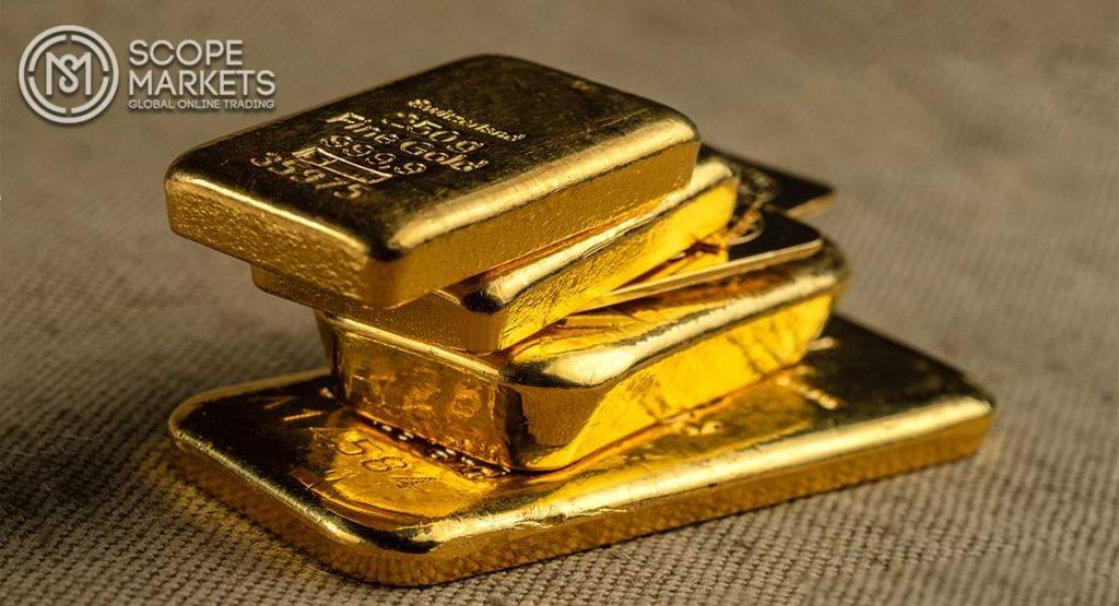 Vàng tăng nhưng vẫn dưới mốc 1800 USD