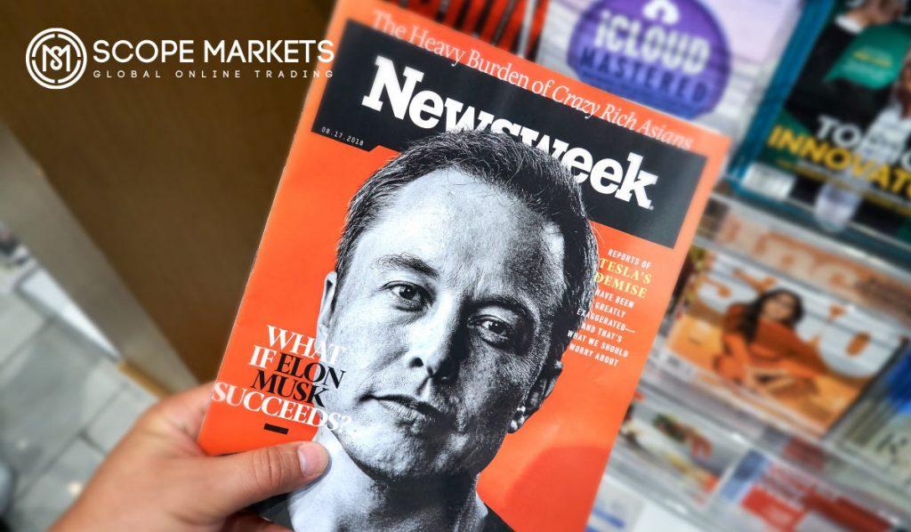Elon Musk at Newsweek ScopeMarkets