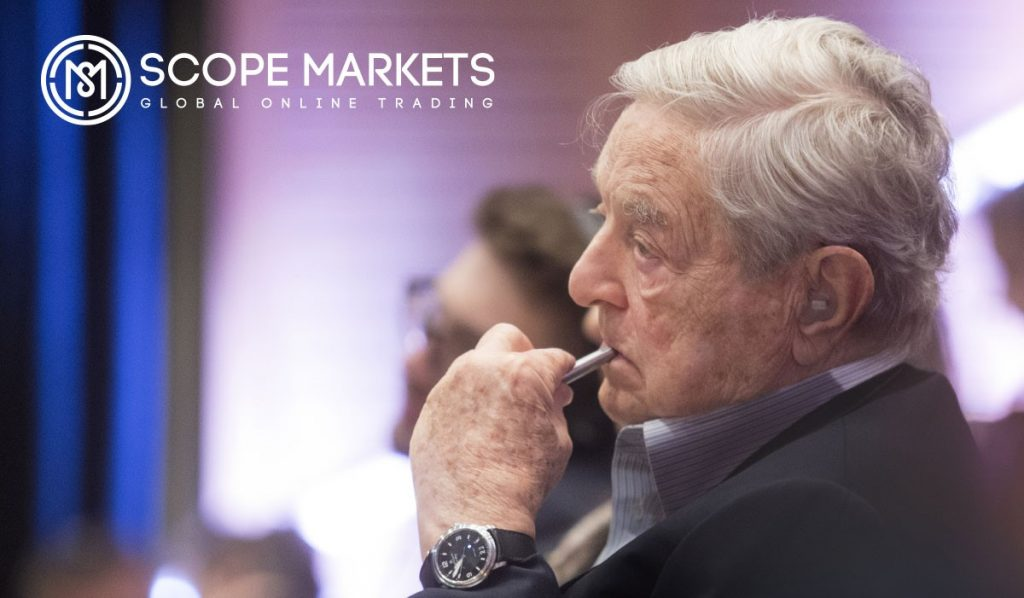 Image of George Soros-one of the most famous Forex trader Scope Markets