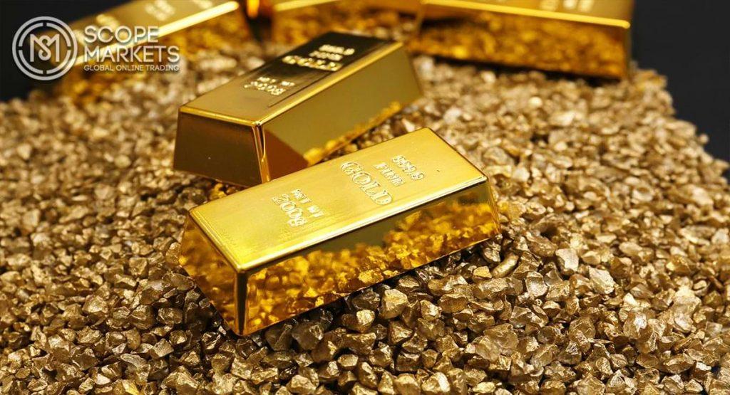 Giá vàng giảm tại Châu Á