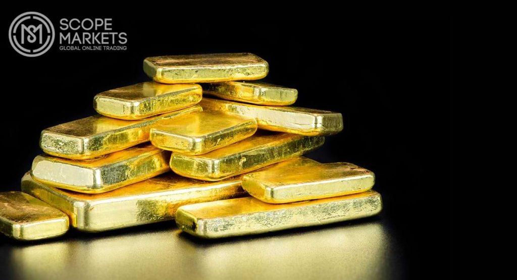Giá vàng Châu Á giảm
