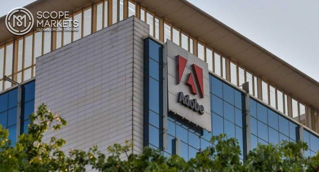 Cổ phiếu Adobe đang tăng