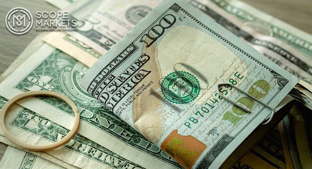 Đồng Đô la tăng nhưng giảm ngay